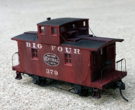 Big Four Bobber Caboose