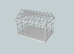 Section House - 3D