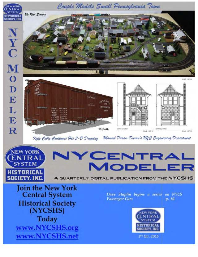 NYCentralModeler2nd16Cover