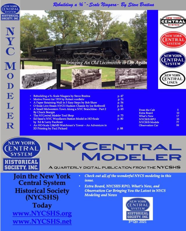 NYCentralModeler3rdQtr2021Cover